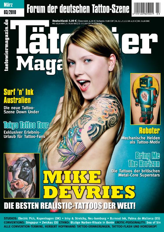 From Germany With Love: Jinxi\'s Tattoos in Tätowier Magazine - Jinxi ...