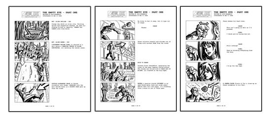 Star Trek Final Frontier  Blog  Part One Storyboards