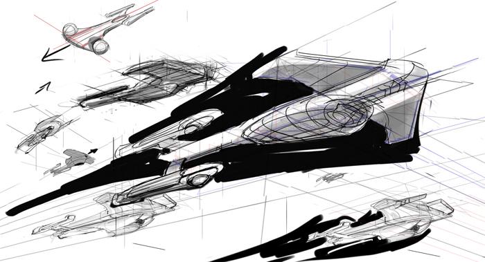 Star trek final frontier design design for Wohnung star trek design