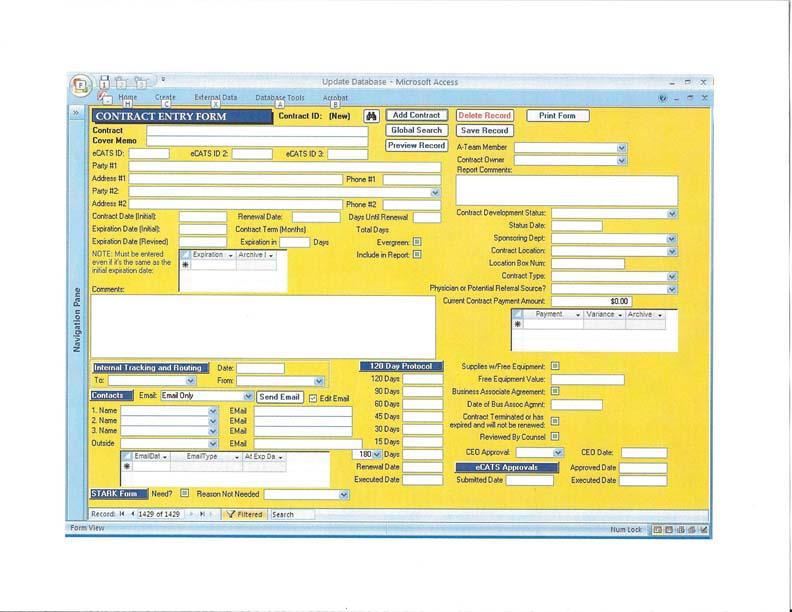 mike reworks slu hospital contract database mike luczaks web resume