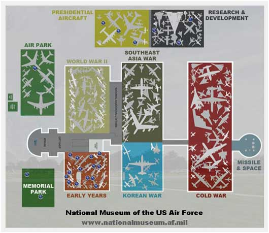 Us Air Force Museum Map The National Museum Of The U.S. Air Force   blog   AirPigz