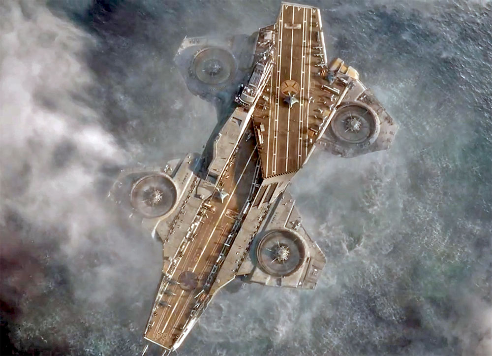 S H I E L D Helicarrier With A Twist