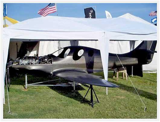 Algie Composite Aircraft 'LP1' - 385 MPH At FL290 & 14 5 GPH