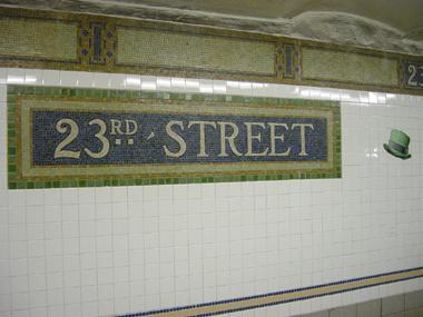 23rd St Hat Station