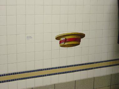23rd St. Mosaic Houdini Hat
