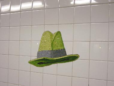 23rd St Mosaic Fedora Hat