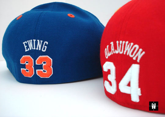 MItchell & Ness Hall Of Fame Fitted Hats