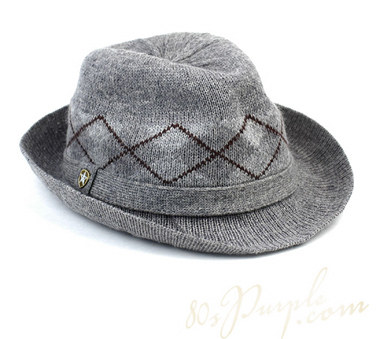 Knitting Pattern Trilby Hat : Universal Article - Headwear