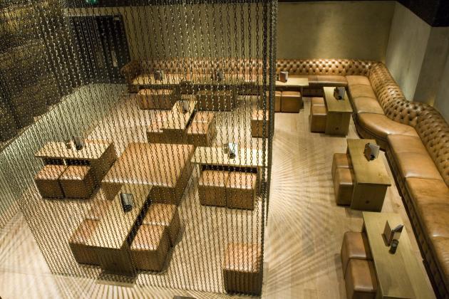 Carbon bar interior by b3 designers designtodesign - Interior leather bar free online ...