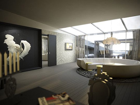 kameha grand bonn interiors by marcel wanders designtodesign magazine. Black Bedroom Furniture Sets. Home Design Ideas