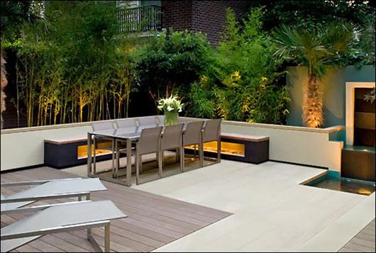Modern Zen Roof Terrace Garden by Amir Schlezinger ...
