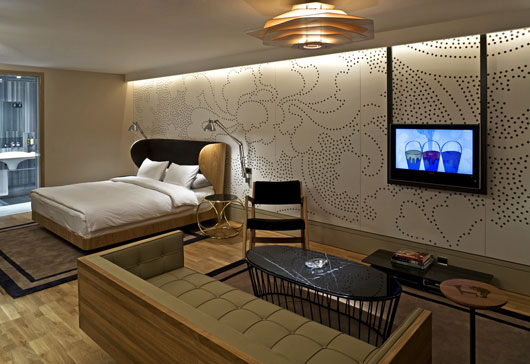 Beautiful and Exotic Hotel Room Interior by Autoban DesignToDesign
