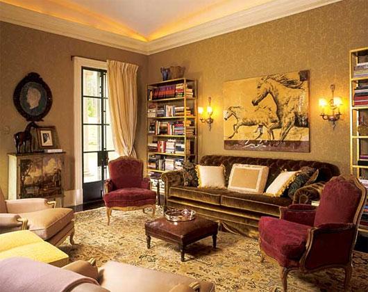 Online Interior Design Magazine: Luxury Victorian Interior Design By Robert Couturier