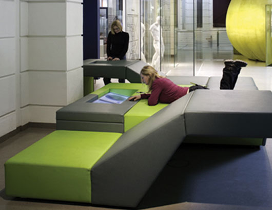 Futuristic Furniture With Hi Tech Multimedia Devices