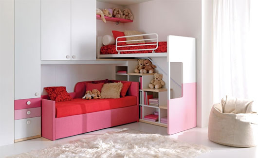 Cute Bedroom Furniture For Two Kids In One Room