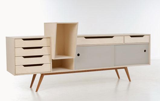 unique sideboard design by abdul ghafoor designtodesign magazine the. Black Bedroom Furniture Sets. Home Design Ideas