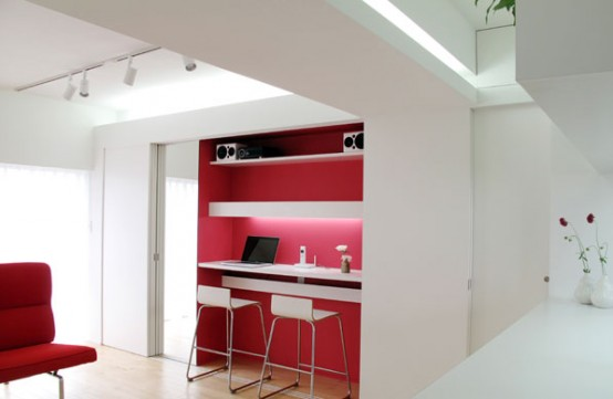 Small Apartment Design In Modern And Minimal Style By BAKOKO Impressive Apartment Design Online Minimalist