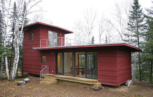 Northwoods Weehouse Unique And Modern Prefab House Now