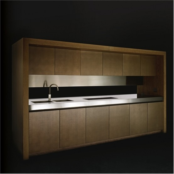 Elegant Wooden Kitchen Bridge By Armani Dada