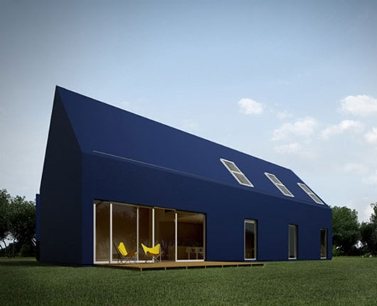 Modern minimalist house by moomoo architect for Minimalist no house