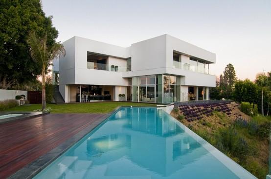 California Modern Luxury Residence – Nightingale Drive House by ...