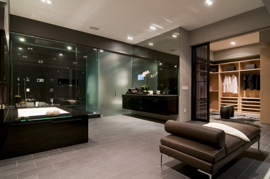black luxury modern bathroom - Black Luxury Modern Bathroom