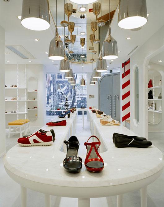 Camper Store Modern Minimalist Fashion Shop Interior By