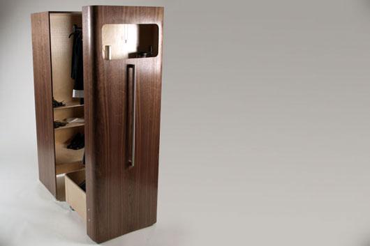 space saving wardrobe for small bedroom by n j dean designtodesign