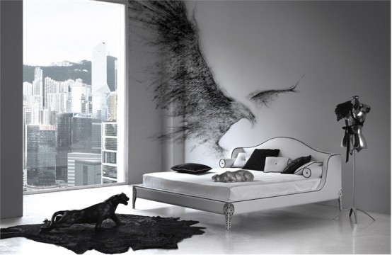 Wonderful Black and White Bedroom Designs 554 x 360 · 42 kB · jpeg