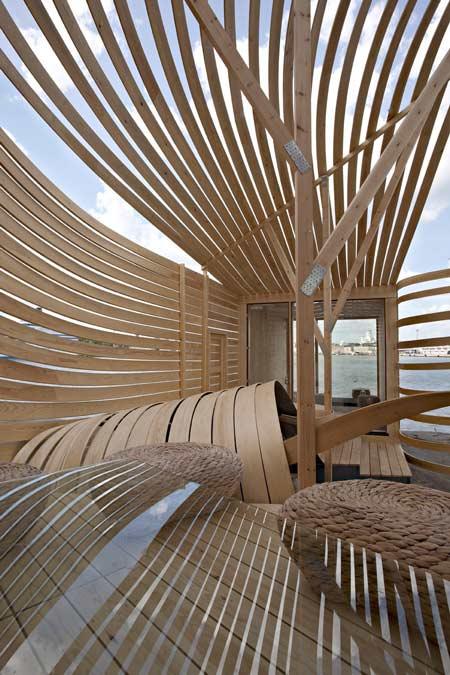 Designtodesign magazine the for Wooden hotel design