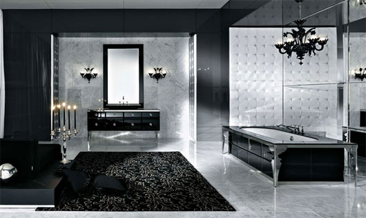 These Are Dramatic Luxurious And Gorgeous Bathroom Interior Design Ideas From Stemik Living