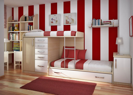 kids room interior design designer the designer perfectly create space that have strong childish atmosphere both of the color scheme combination themes and furniture kids bedroom study room interior design ideas from sergi