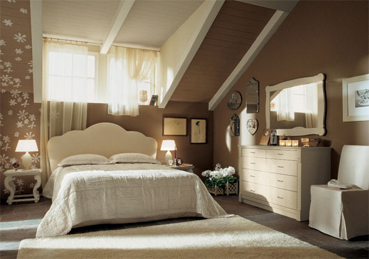 English country style bedroom interior from arredamento mobili designtodesign magazine - English bedroom ideas ...