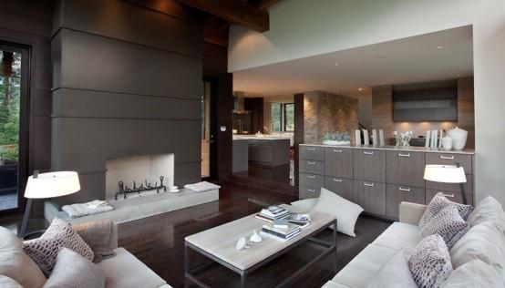 Luxury House with a Modern Contemporary Interior - DesignToDesign ...