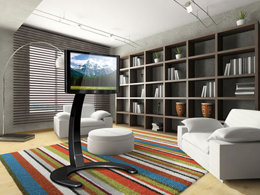 Modern LCD TV Stands from Paxton – Xelo TV Stand - DesignToDesign ...
