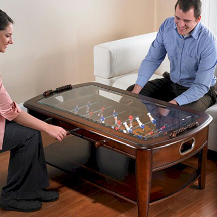 Dining and Coffee Tables with Builtin Games Practical Furniture