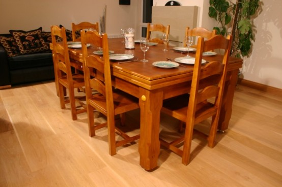 Dining And Coffee Tables With Built In Games Practical Furniture For Funny Evenings