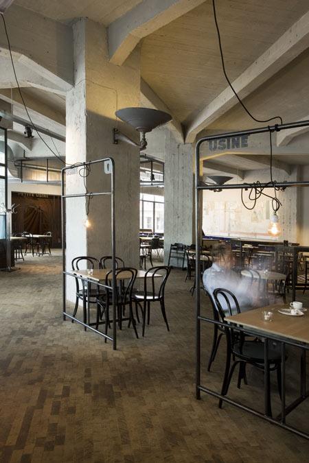 Grand cafe usine by bearandbunny designtodesign magazine