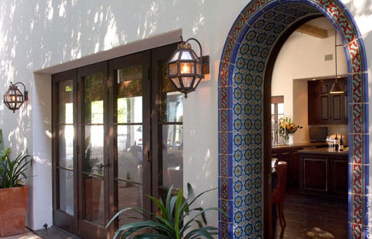 spanish colonial home interior by kaa design group designtodesign
