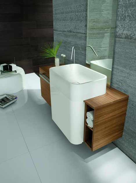 A Wall Hung Bathroom Vanity Is The Small E Solution With Style Ideal For Compact City Homes Or Sized Urban Lofts These Stylish