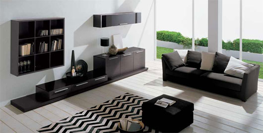 Minimalist Living Room Decorating Ideas from Dall'Agnese ...