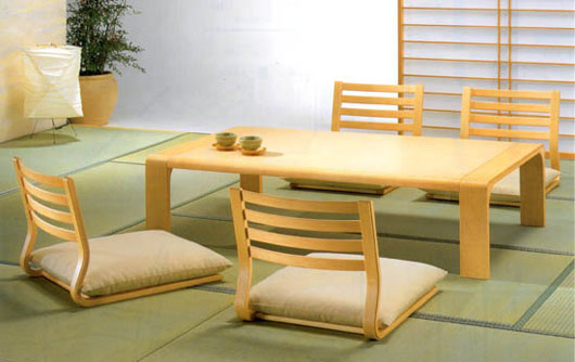 Designtodesign magazine the for Traditional japanese furniture