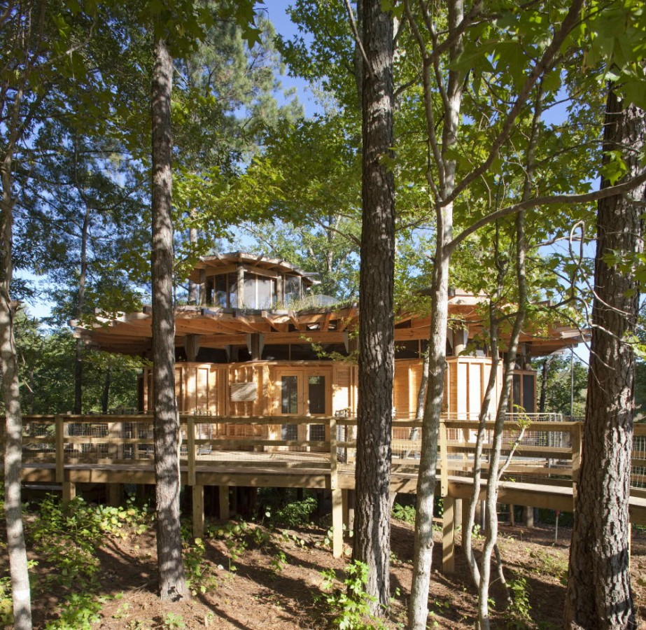 Camp Twin Lakes Treehouse Lord Aeck Amp Sargent
