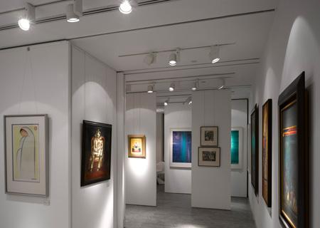 The delhi art gallery by morphogenesis designtodesign for High end art galleries