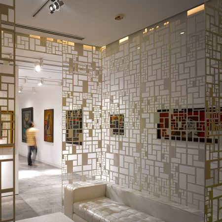 The delhi art gallery by morphogenesis designtodesign Art gallery interior design