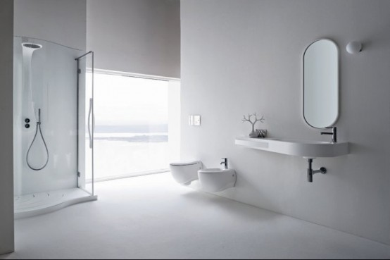 The Sanitary Ware Is Available In White And Black Colors So Could Perfectly Suit For Any Trendy Bathroom Design More Information You Find On Rexa
