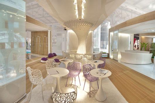 Restaurant Interior Design At WT Hotel Italy
