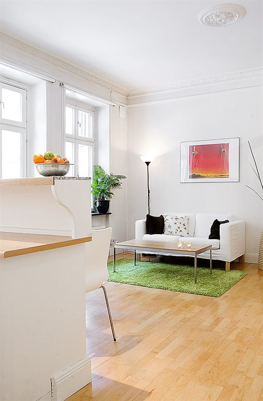 Small And Thoughtful Swedish Apartment Interior Design