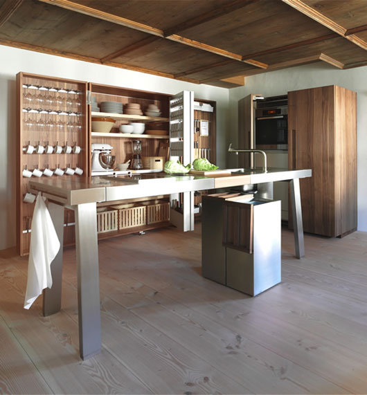 B2 Minimalist Kitchen Design From Bulthaup Germany