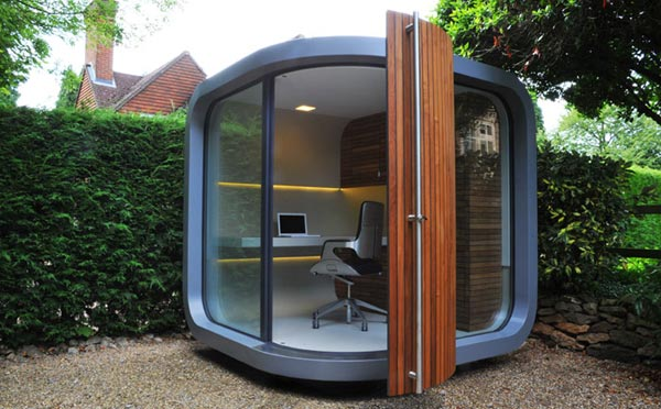 Fantastic Idea for a Modern Home Office Fantastic Idea for a Modern Home Office Fantastic Idea for a Modern Home Office officePOD prefab office 2